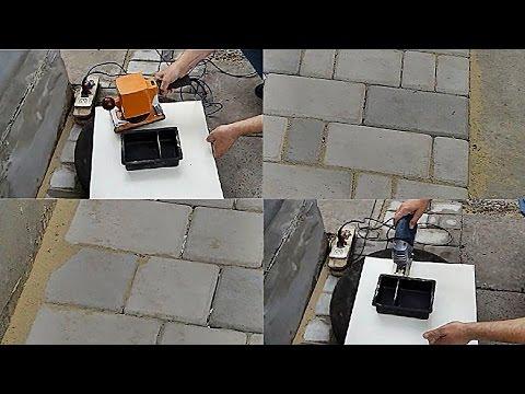 █ Тротуарная плитка своими руками - подробно по этапам (экономно и просто). Handmade garden walkway.