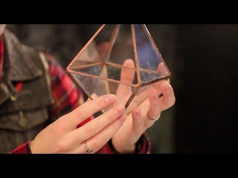 Мастер-класс: Флорариум для Растений своими руками. Витраж в технике Тиффани
