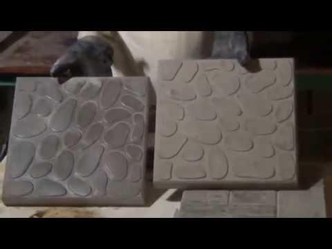 Производство тротуарной плитки своими руками в домашних условиях