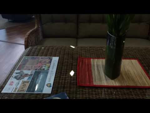 Обеденный комплект мебели из ротанга Evita Brafab