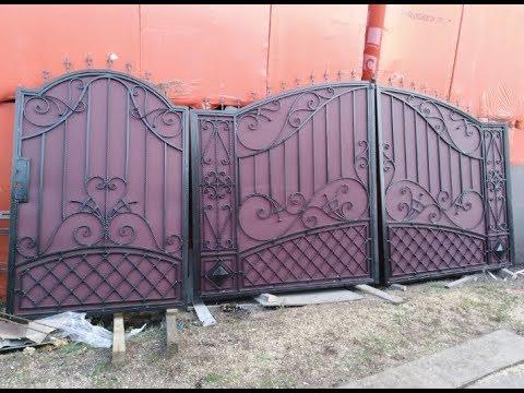 Кованые ворота от А до Я