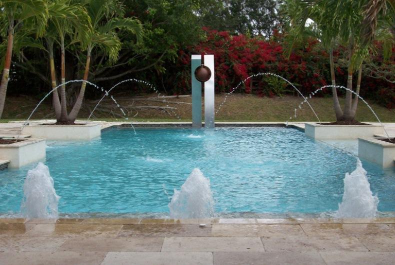 загородные дома с бассейном фото