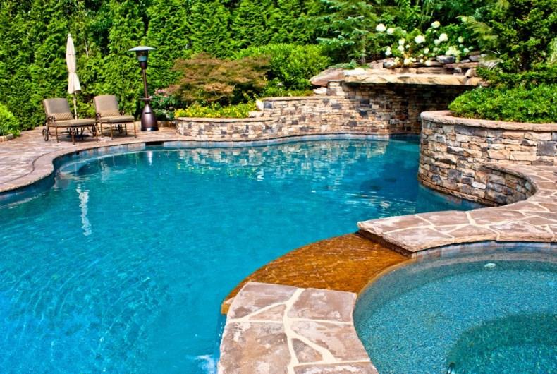 фото бассейн в загородном доме
