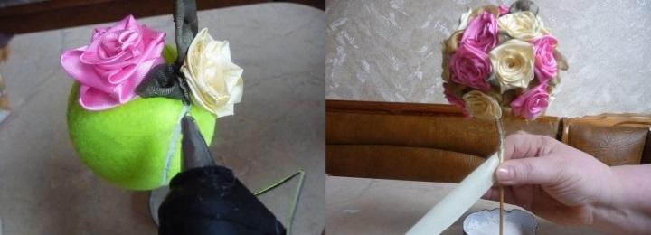 выбрать расположение роз
