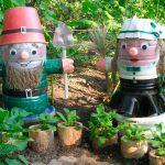 Садовые фигурки для дачи своими руками. миниатюра
