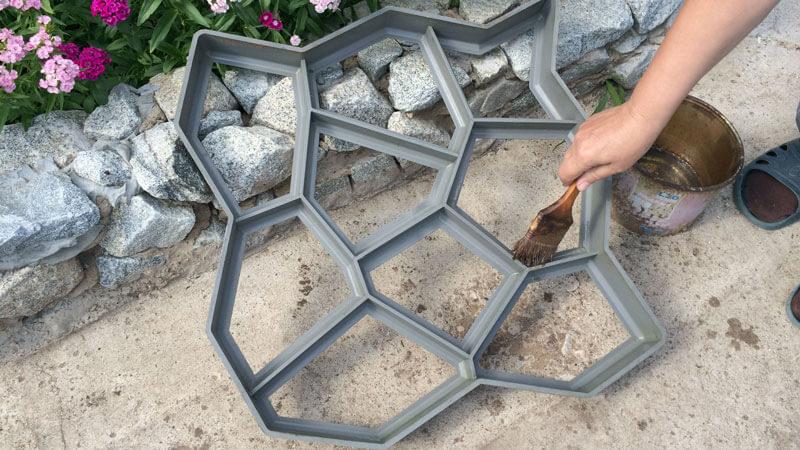 тротуарная плитка для дорожек на даче