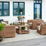 Садовая мебель из искусственного ротанга Brafab миниатюра