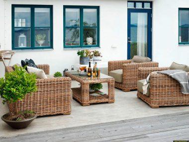 Садовая мебель из искусственного ротанга Brafab
