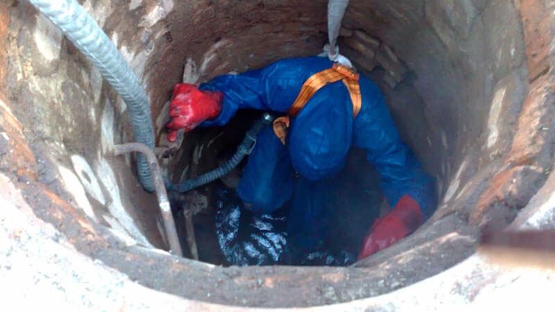 чистка и ремонт колодцев своими руками