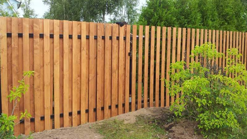 деревянные заборы для частного дома своими руками