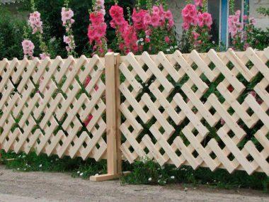Деревянные заборы для частного дома своими руками.