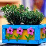 Кашпо для цветов своими руками. Идеи по изготовлению. миниатюра