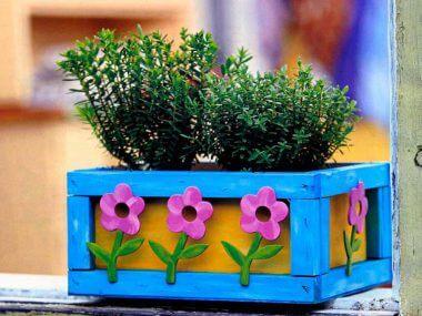Кашпо для цветов своими руками. Идеи по изготовлению.